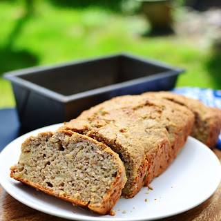 Ginger Pear Banana Wholemeal Bread