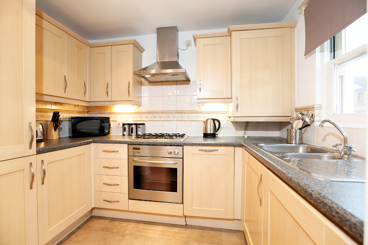 Fully equipped kitchen at Packington Place