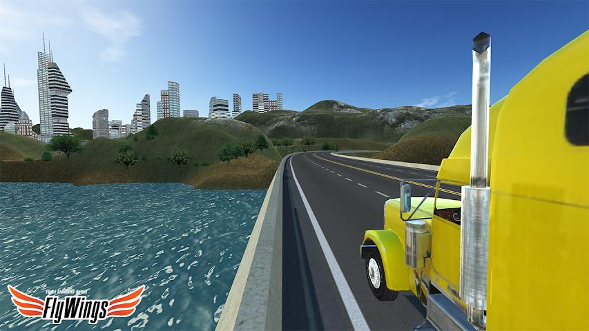 android Truck Simulator 2016 Free Game Screenshot 2