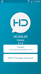 HD Dialer Pro - náhled