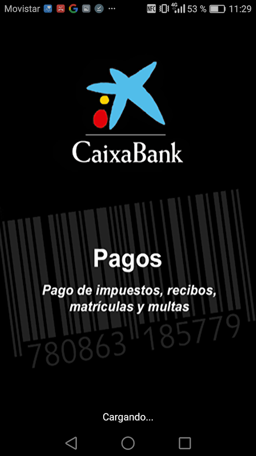 Pago de recibos- screenshot