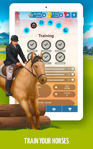 Howrse - free horse breeding farm game 4.0.5 screenshots 11