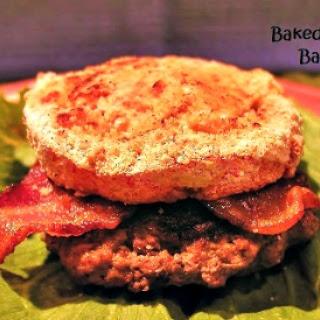 Baked Tomato and Bacon Burger Recipe