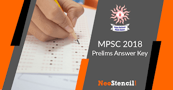 MPSC Answer Key 2019 | Question Paper, Answers & Cut Off