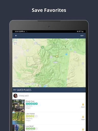 The Dyrt Camping App: Tent & RV Campsites Finder 3.1.36 screenshots 10