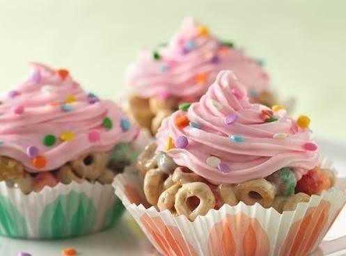 Cereal Cupcakes Recipe