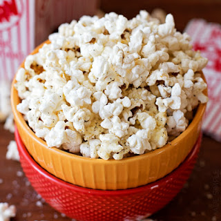 Black Pepper Parmesan Popcorn