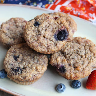 Healthy Mixed Berry Banana Muffins Recipe