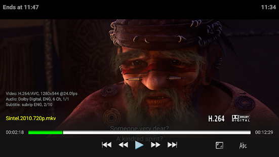Vimu Media Player for TV- screenshot thumbnail