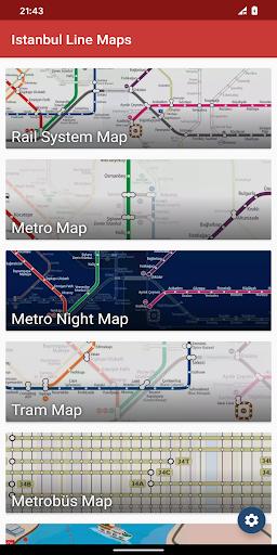 metro map: istanbul (offline) screenshot 1