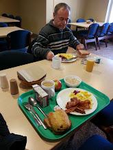 Photo: Breakfast at the Citadel... mmm chocolate croissants!!