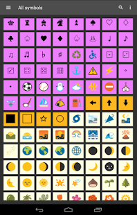 Symbols Shortcuts 2 with custom Keyboard- screenshot thumbnail
