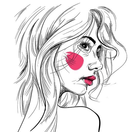 Photo to Pencil Sketch Art Icon