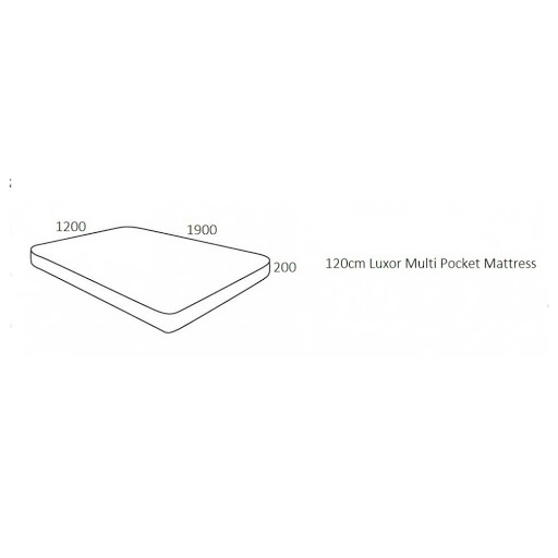 Birlea Luxor Multi Pocket Mattress