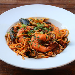 Seafood Spaghetti Recipe