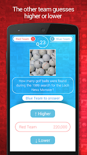 Best Guess - Hi-Lo Quiz Game- screenshot thumbnail