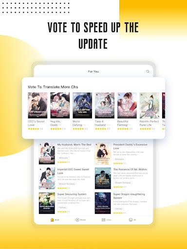 Babel Novel - Webnovel & Story Books Reading Apps screenshots 13