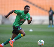 Lebo Mothiba trains during the South Africa training sesssion October 2 2017 at FNB Stadium. The French-based striker will miss Bafana Bafana's 2019 Africa Cup of Nations (Afcon) qualifier against Libya on Saturday September 8 2018 at Moses Mabhida Stadium in Durban through an injury which his new Ligue1 club Strasbourg said will rule him out for 8 to 10 days.