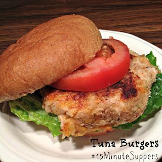 Tuna Burgers.