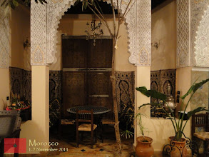 Photo: a very nice place to stay in Meknes