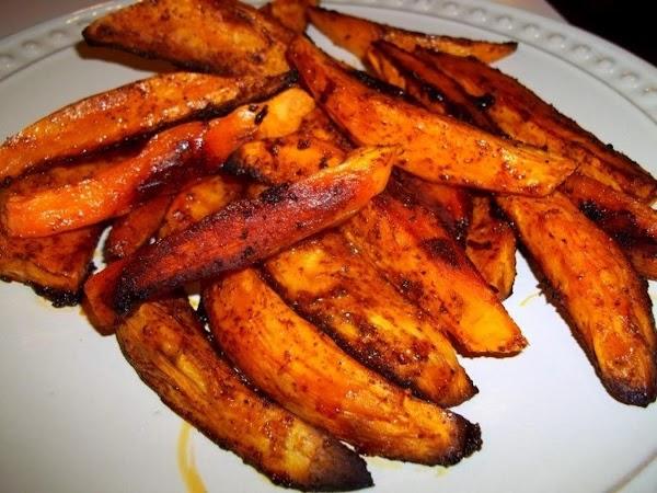 ~ Mighty Tasty Sweet Potato Wedges ~ Recipe