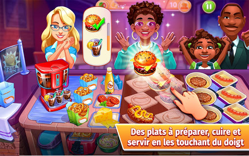 Télécharger Cooking Craze - Jouer au Jeu de Restaurant Ultime APK MOD (Astuce) screenshots 1