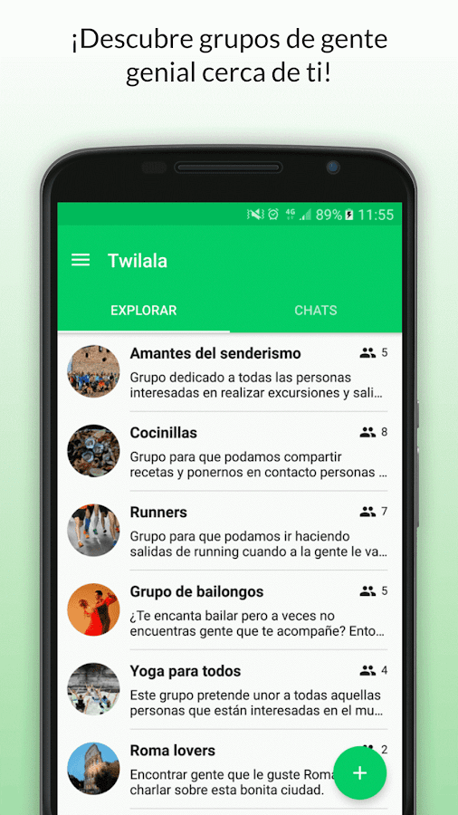 Twilala - Chat para conocer gente y amistad- screenshot