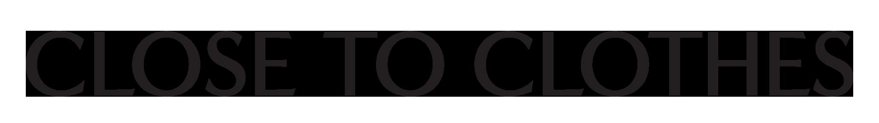 Logo Close to Clothes