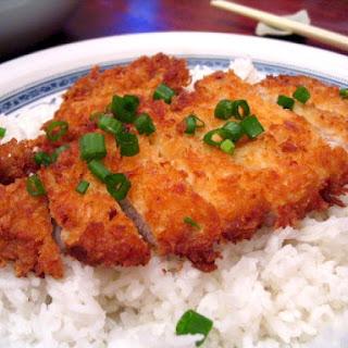 Deep fried pork (Tonkatsu)
