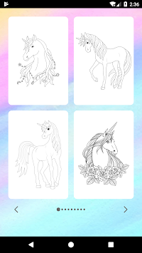 Unicorn Coloring Book APK screenshot thumbnail 2