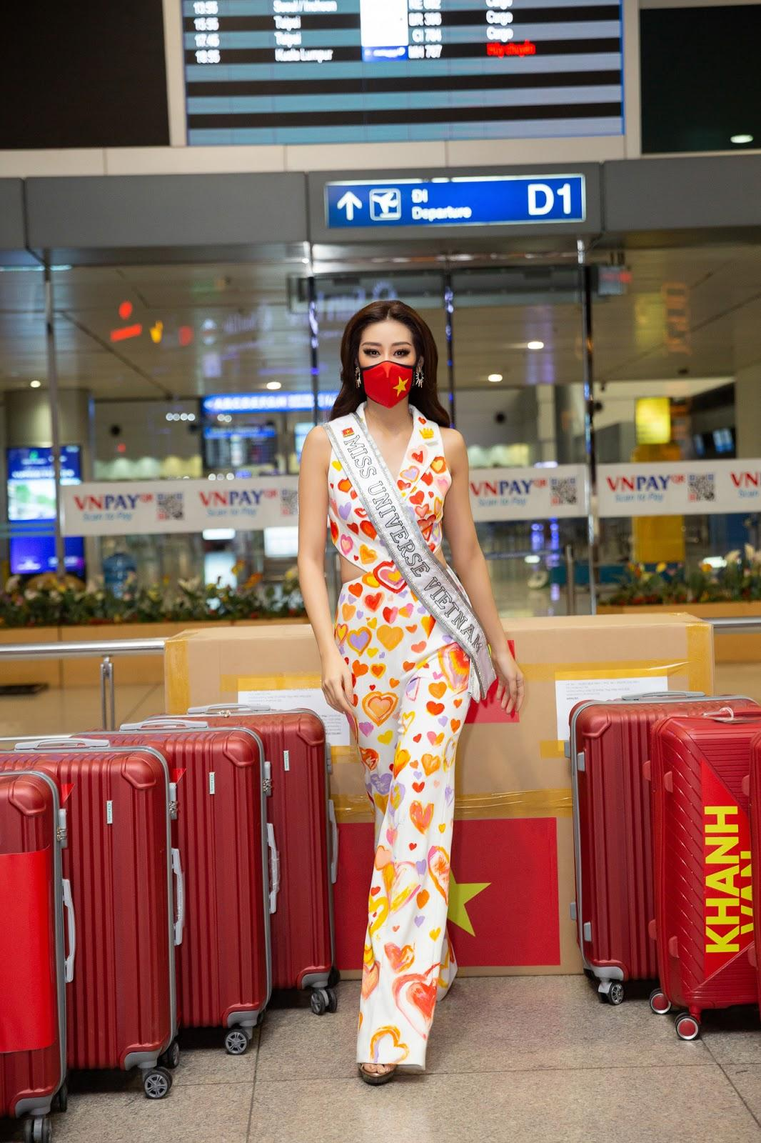 Xúc động giây phút Khánh Vân sang Mỹ thi Miss Universe giữa dịch Covid-19  nhưng vẫn hừng hực khí thế - Sao Việt - Việt Giải Trí