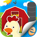 Animal Stickers Farm Premium icon