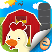 Farm Story Maker Activity Kids Game for Toddlers