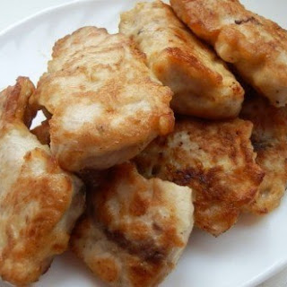 Fish in batter Onion.