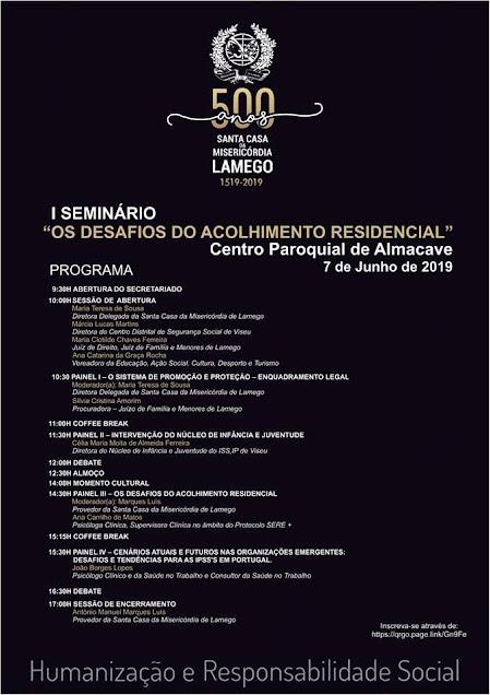 "Misericórdia de Lamego promove seminário dedicado aos ""Desafios do Acolhimento Residencial"""
