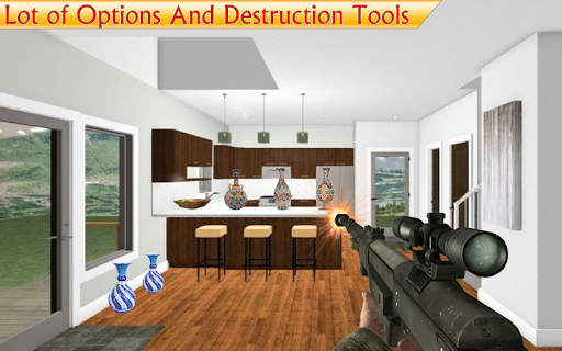 Destroy the House - Smash Interiors Home Free Game 1.9.5 Screenshots 10
