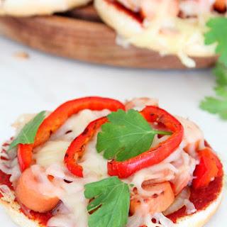 Mini Bread Hot Dog Pizzas