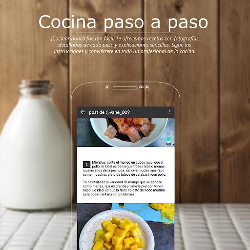 Recetas de cocina gratis u2013 Tu comunidad de cocina  screenshots 2