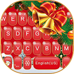 Red Christmas Keyboard Theme Icon