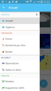 Météociel- screenshot thumbnail
