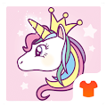 Cute Unicorn Theme- My Little Pony APK