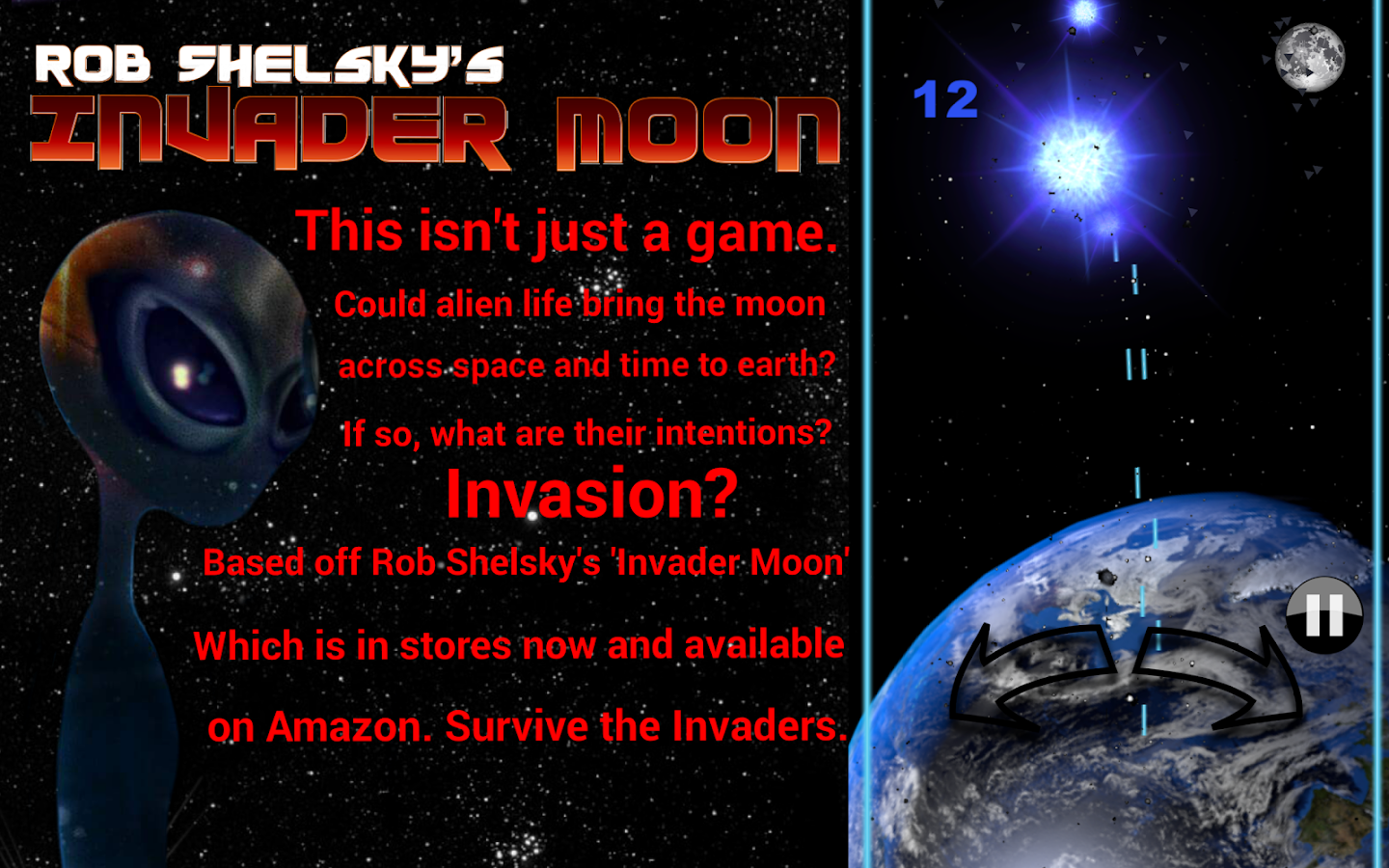 Rob Shelsky's Invader Moon- screenshot