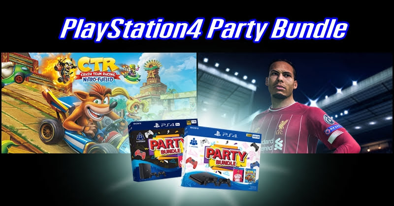 PlayStation4 Party Bundle สองชุดใหม่ 15 พฤศจิกายนนี้