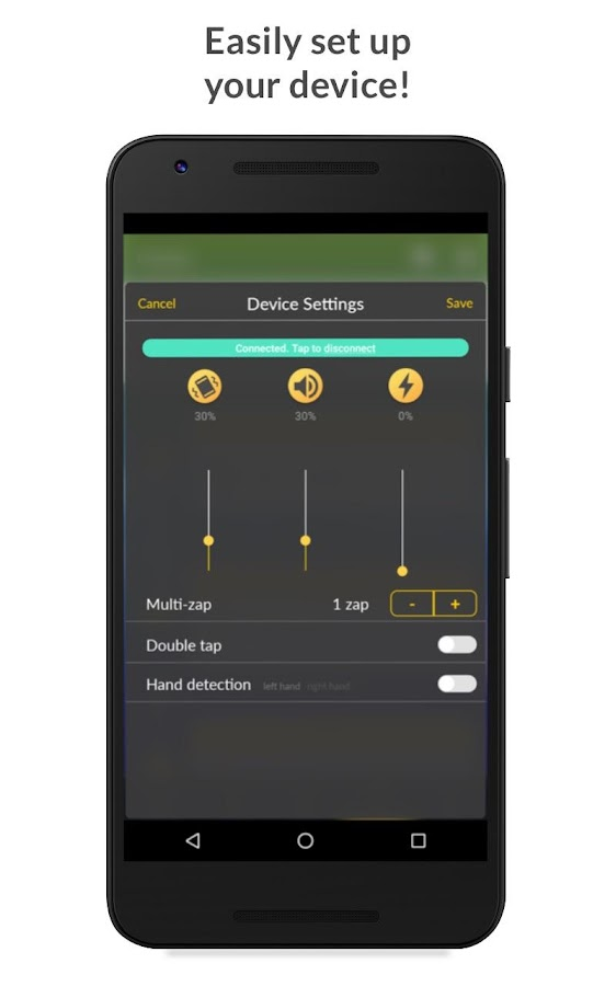 Pavlok- screenshot