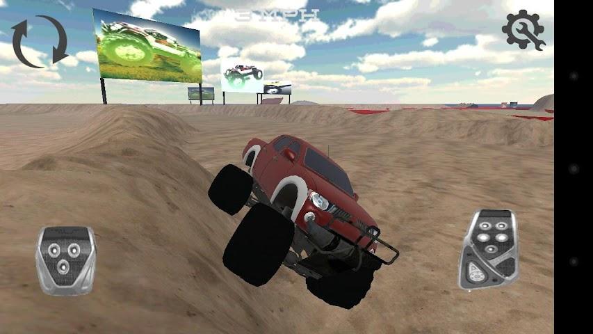 android Monster Truck Drifter Screenshot 4