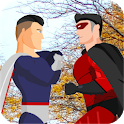 Flying Superhero vs Incredible Hero Street Fight icon
