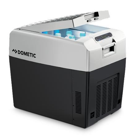 Dometic TropiCool TCX 35 | Bärbar termoelektrisk kylbox, 33 l