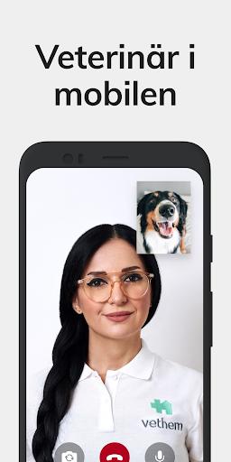 Vethem: Veterinär i mobilen – trygg vård direkt  screenshots 1