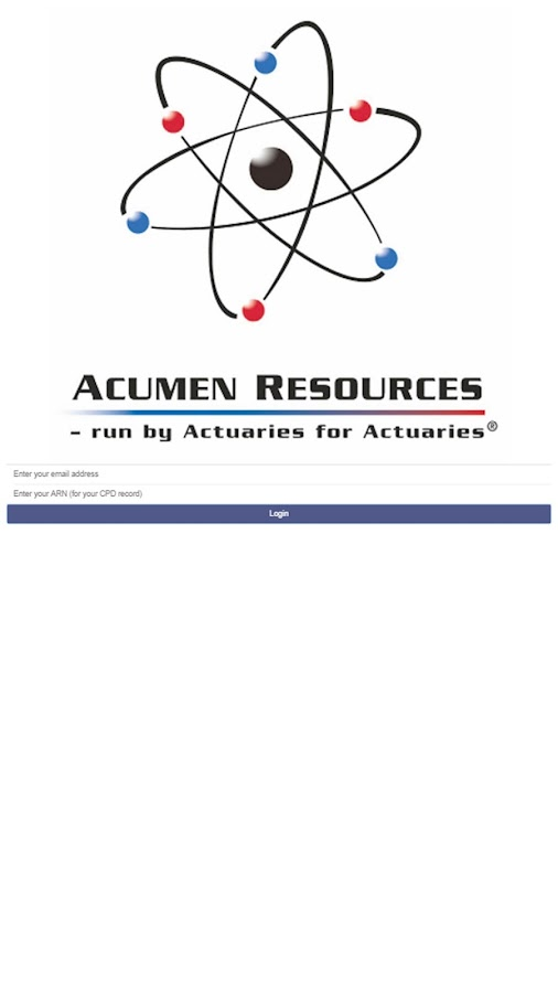 Acumen Resources- screenshot