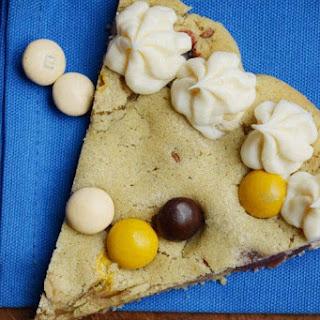 M&M's® Pecan Pie Cookie Pizza